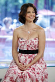 Ashley Judd shows cleavage at NBC Today television program in New York