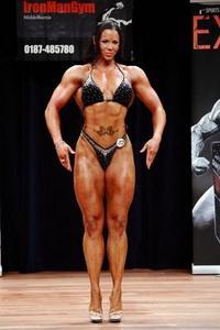Maria Wattel Bodybuilder