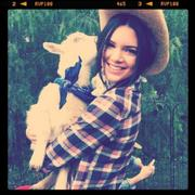 """Kendall Jenner Instagram Pics x2 """"Cowgirl"""""""