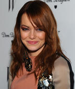 Emma Stone @ Jan 13rd, W Magazine Best Performances issue party at Chateau Marmont in Los Angeles, CA x2 HQ's