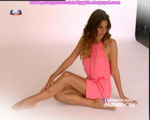 JESSICA ATHAYDE - MAKING OF PUB - FAMA SHOW - 5-5-2013