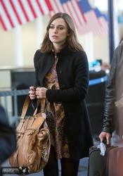 Keira Knightley at LAX - November 10