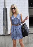 Mollie King | Arriving @ a Studio in London | June 23 | 8 leggy pics