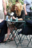 Becki Newton leggy on the set of Ugly Betty at Cooper Square -