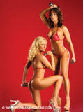 Karen McDougal &amp;amp; Katie Lohmann ~ Iron Man ~ Magazine