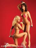 Karen McDougal & Katie Lohmann ~ Iron Man ~ Magazine
