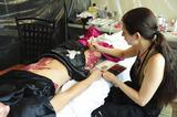 Джессика Зор, фото 1011. Jessica Szohr Body Paint For Sobe Photoshoot*HQ, foto 1011,